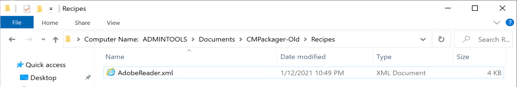 CM Packager 06