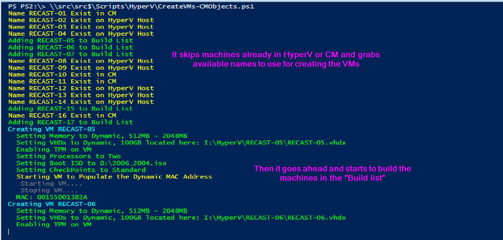 HyperV Automate 03