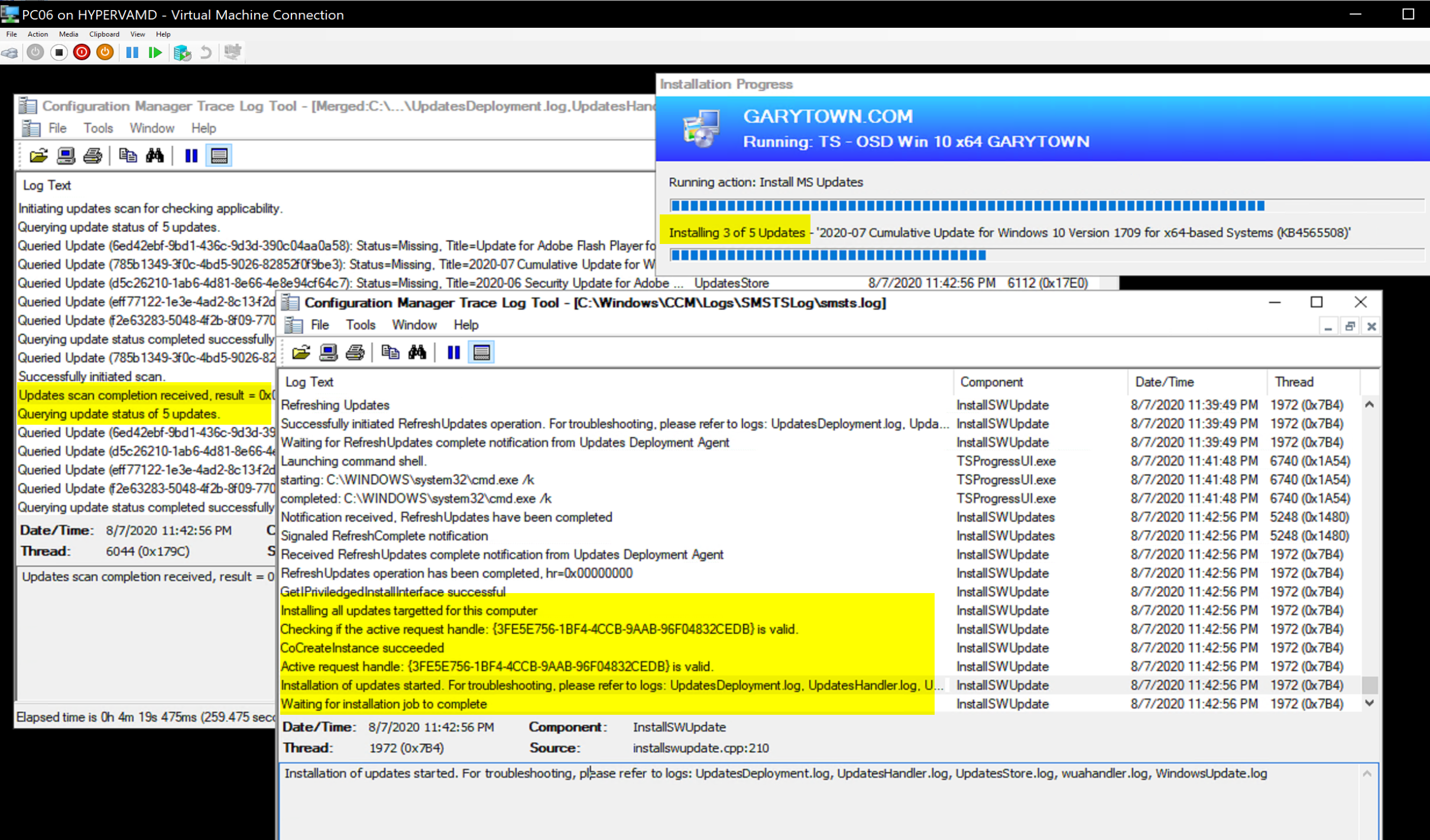 Install Software Update 5