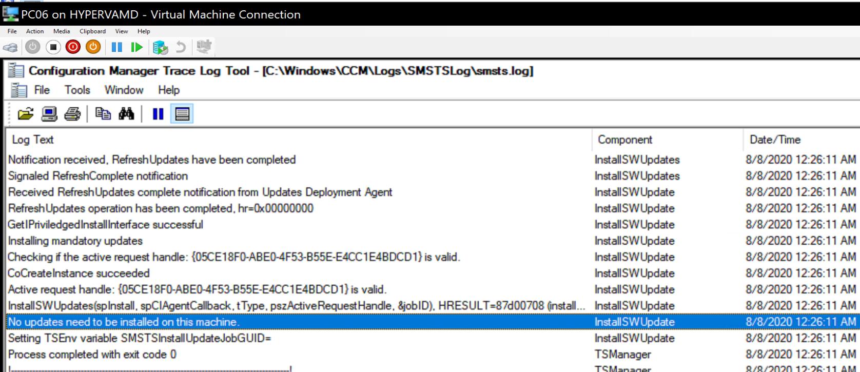 Install Software Update 6