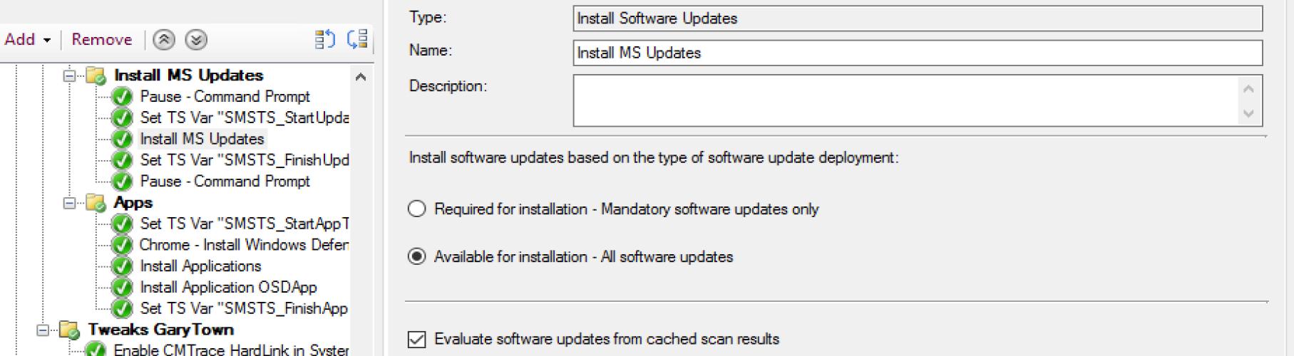 Install Software Update 8