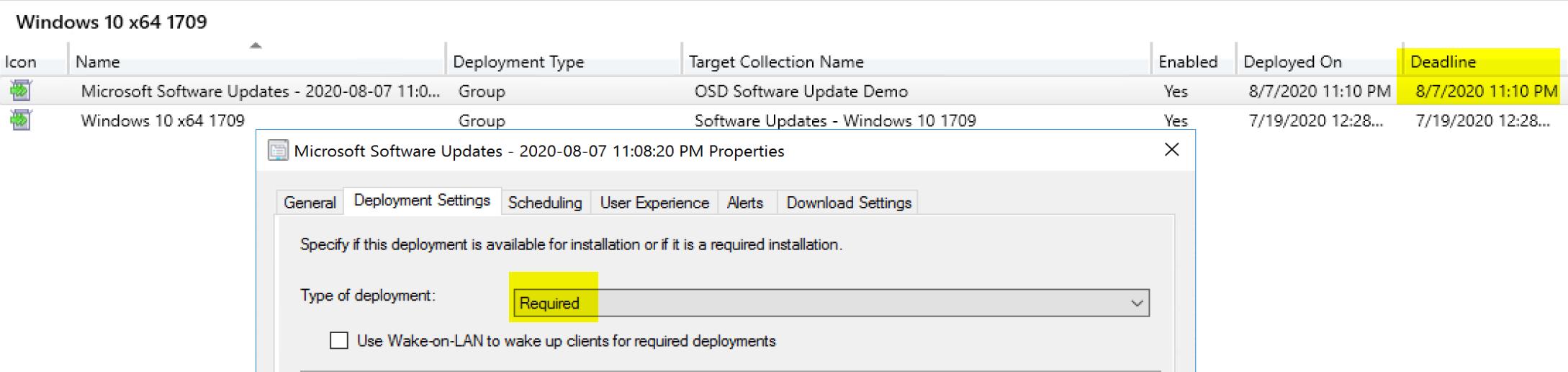 Install Software Update 10