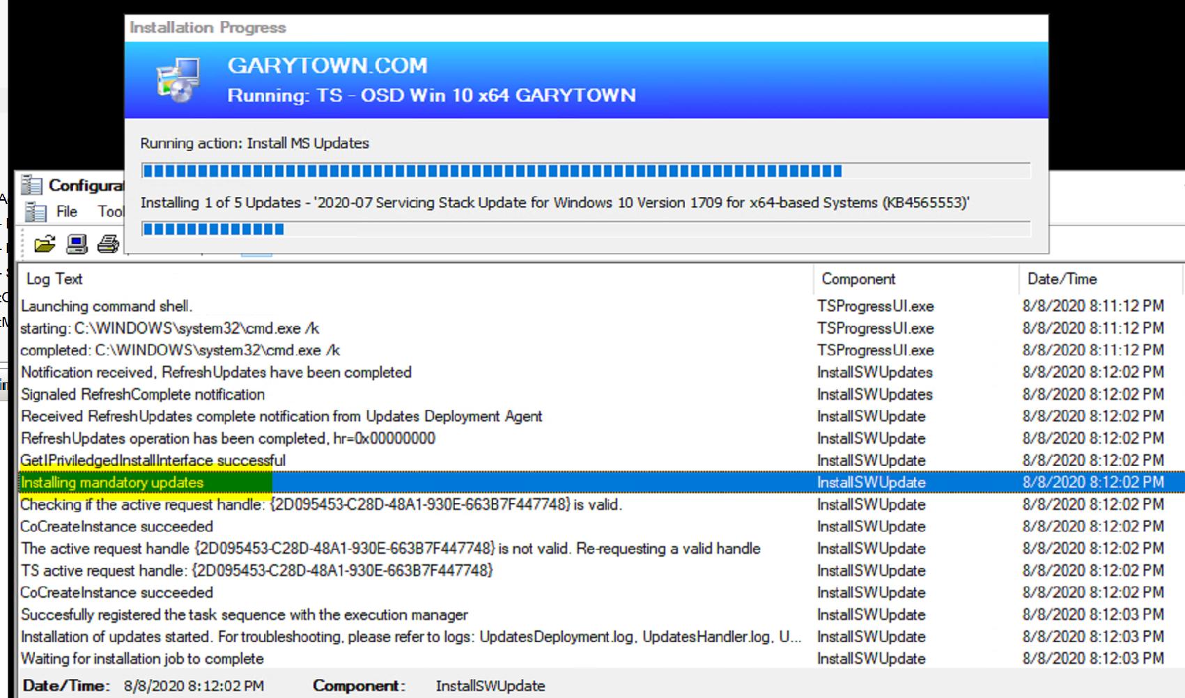 Install Software Update 13