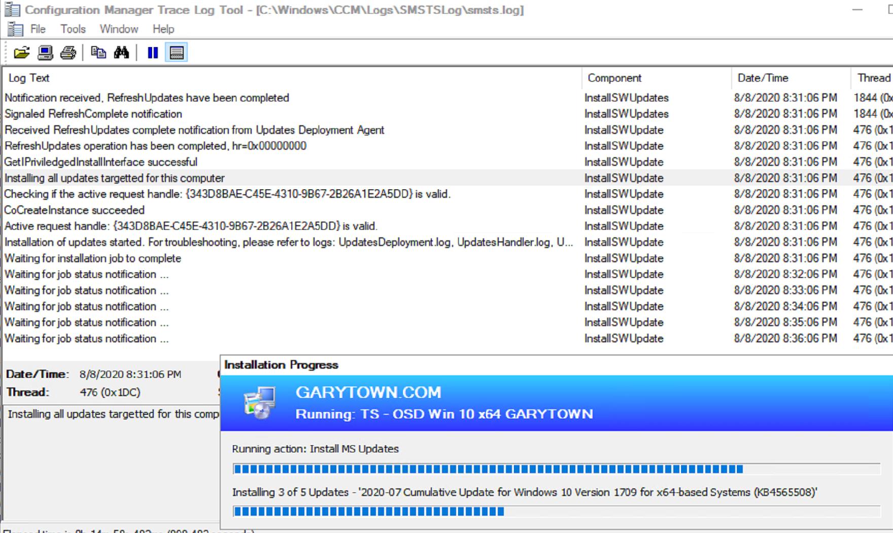 Install Software Update 15