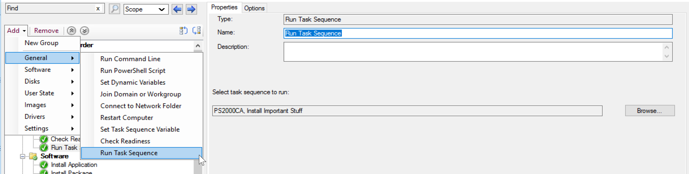 Run Task Sequence Image 1