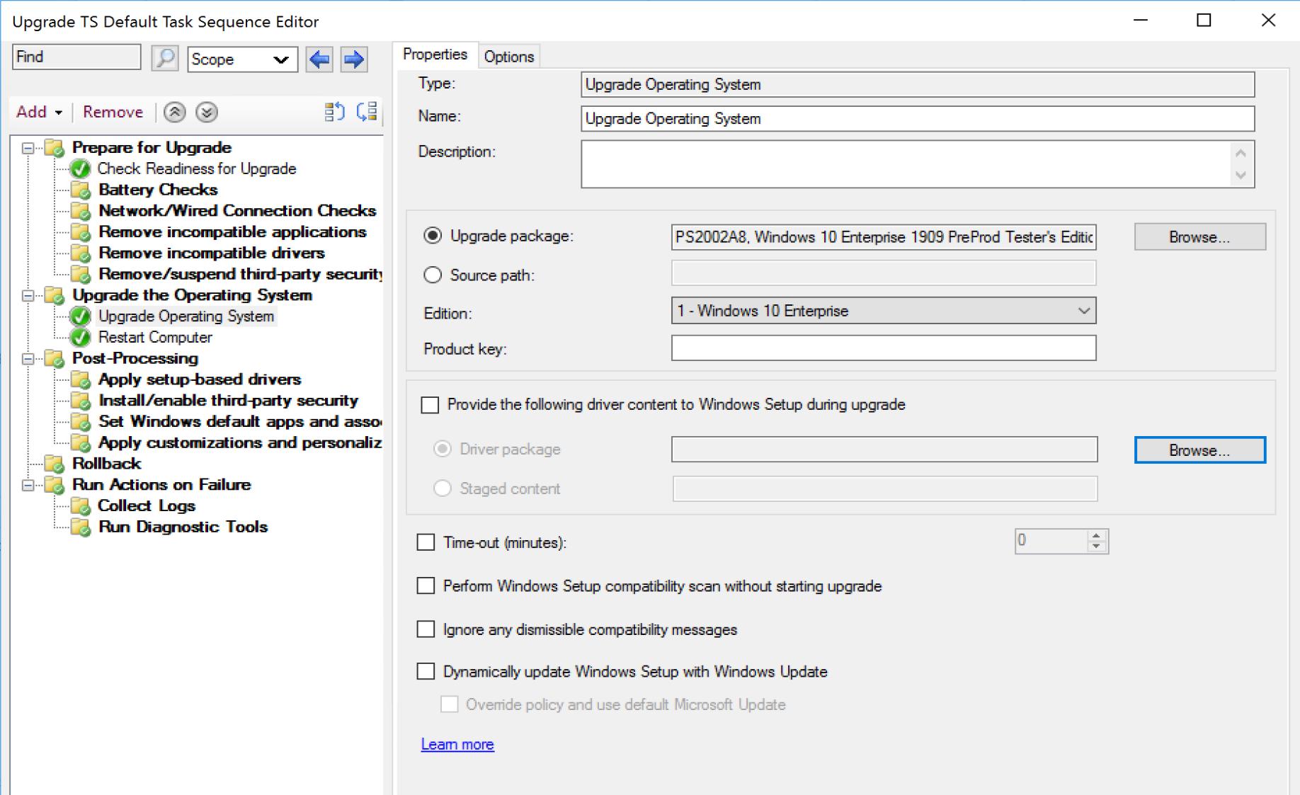 Upgrade OS Image 1