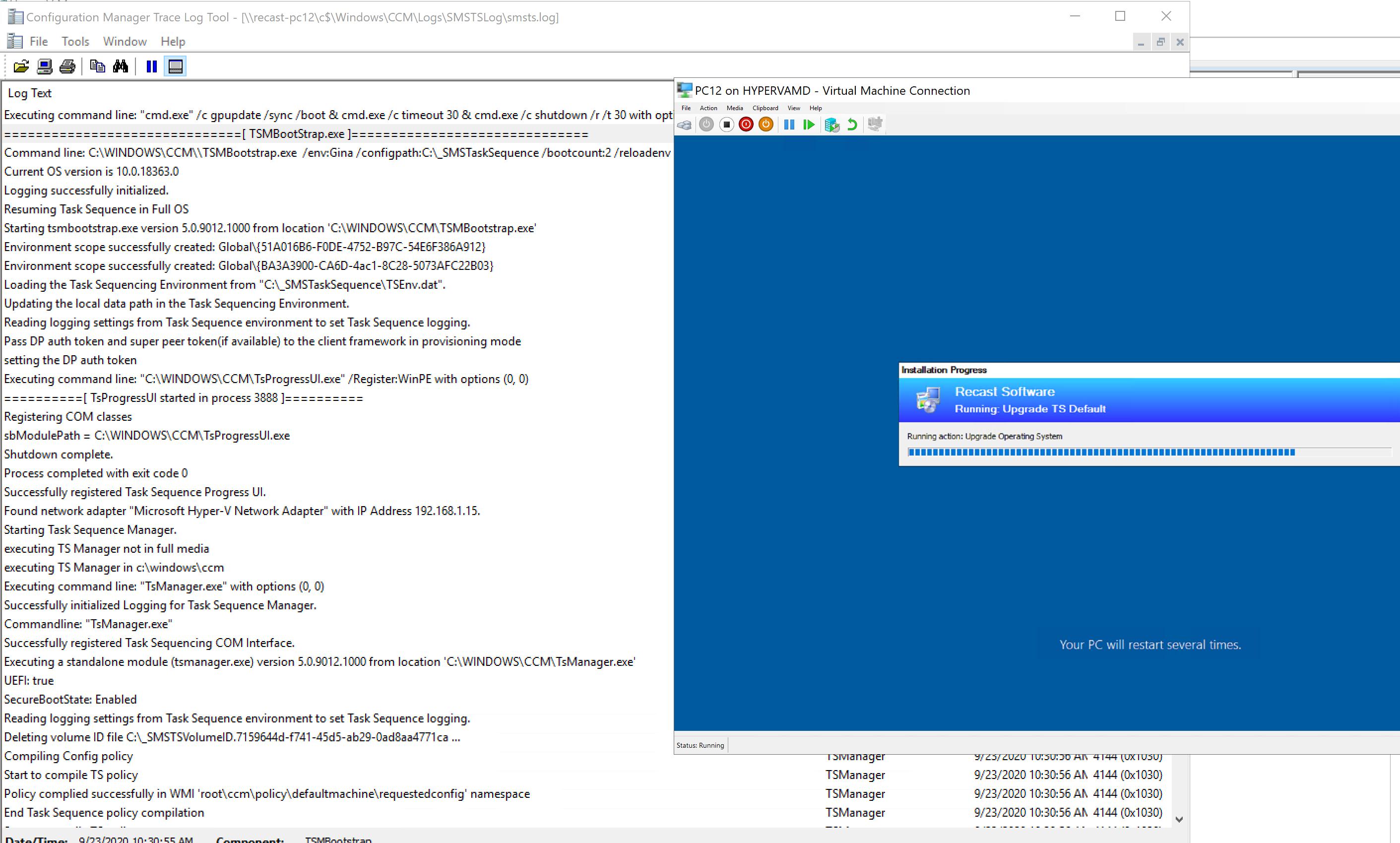 Upgrade OS Image24