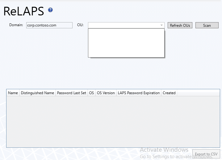 Recast Management Server create a ReLAPS role
