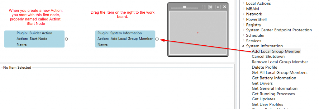 Right Click Tools Builder version 4.0 example