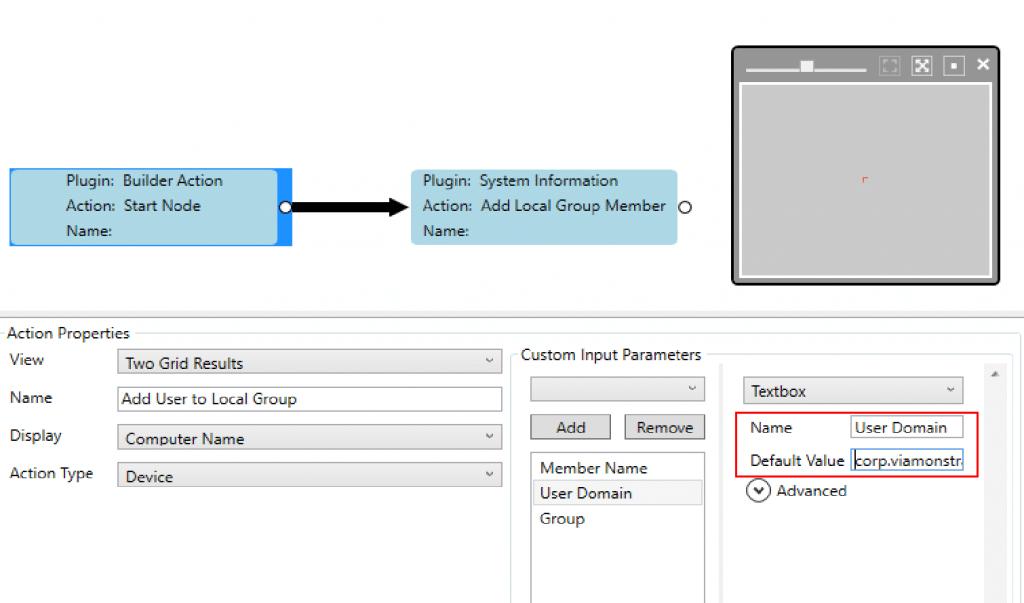 Right Click Tools Builder Input Parameter