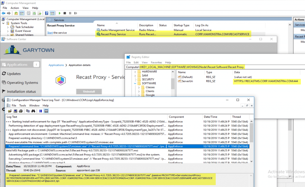 ConfigMgr Application Model