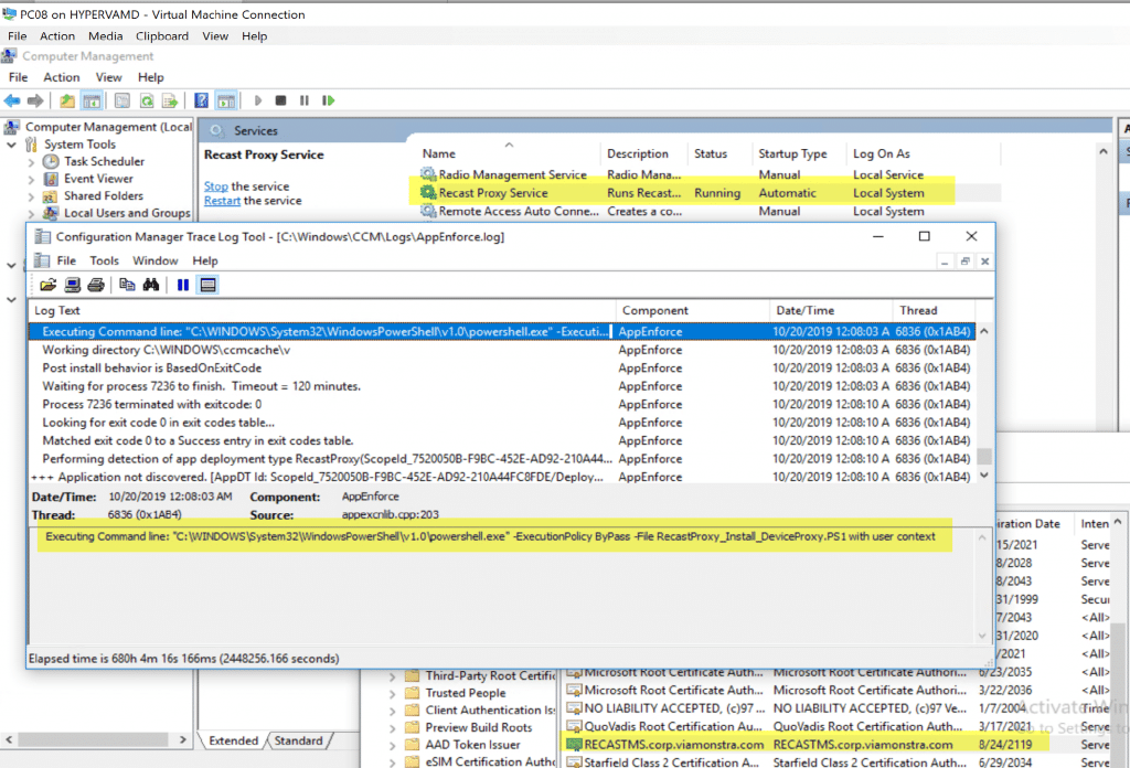 Configuration Manager Trace Log Tool