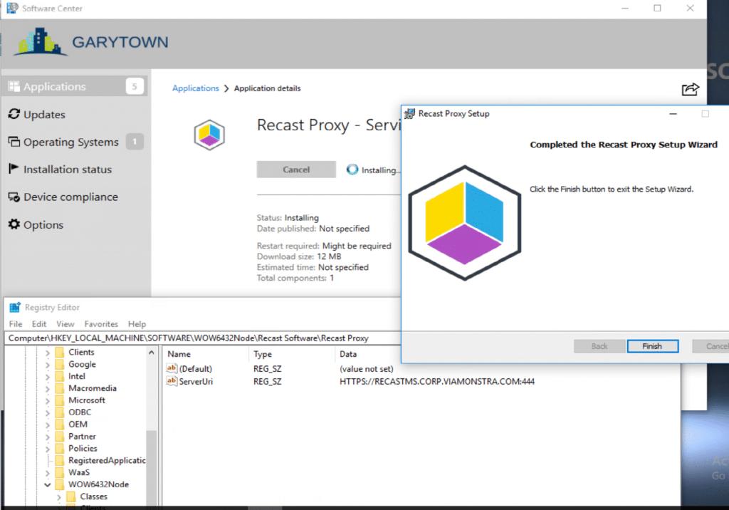 Recast Proxy Setup Complete
