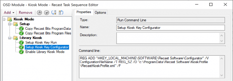 Create the Task Sequence Module