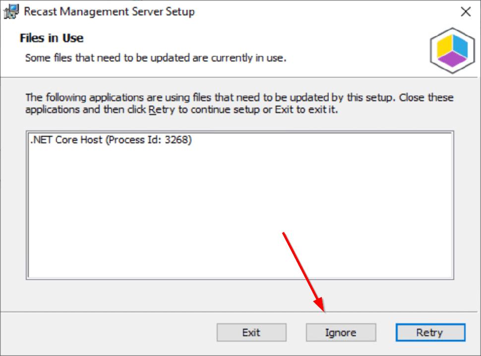 Recast Management Server Setup