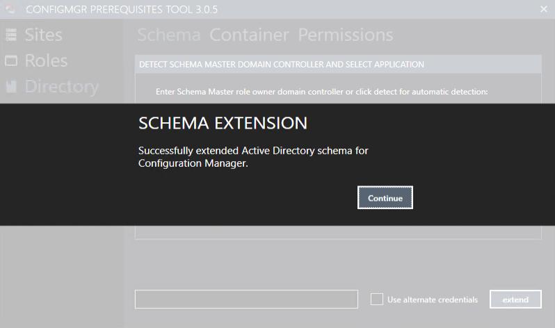 Schema Extension