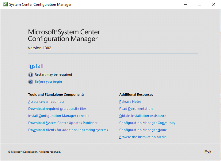 Microsoft SCCM System Center Configuration Manager