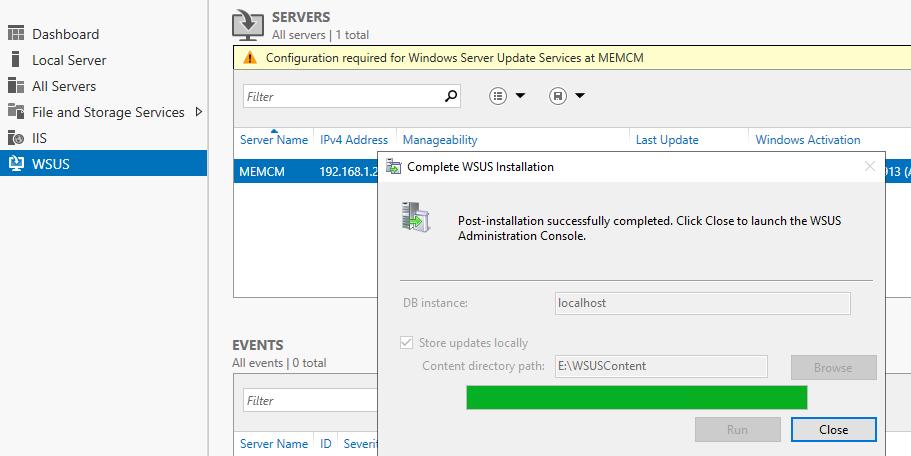 WSUS Servers