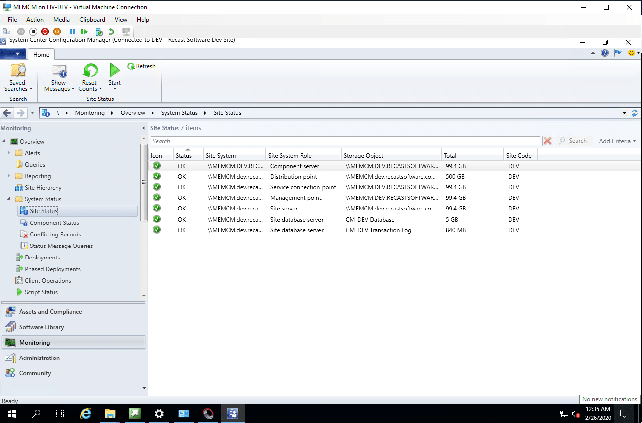 Microsoft SCCM System Center Configuration Manager