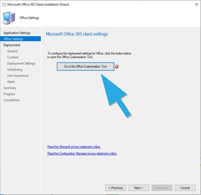 Assistant d'installation du client Microsoft 365