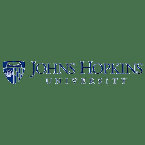 Logotipo de la Universidad Johns Hopkins