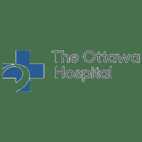 El logotipo del Hospital de Ottawa