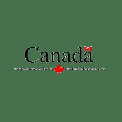 Logotipo del Departamento de Finanzas de Canadá